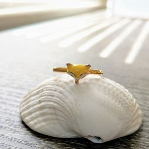 🦊 Foxy Ring Gold Plated